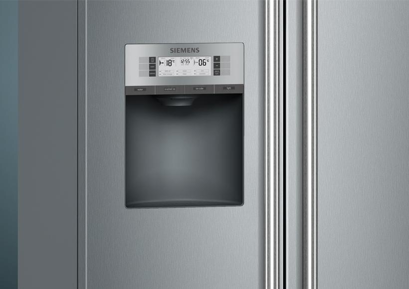 Siemens Kühlschrank Ice Maker Bedienungsanleitung : Siemens iq nofrost kühl gefrierkombination side by side