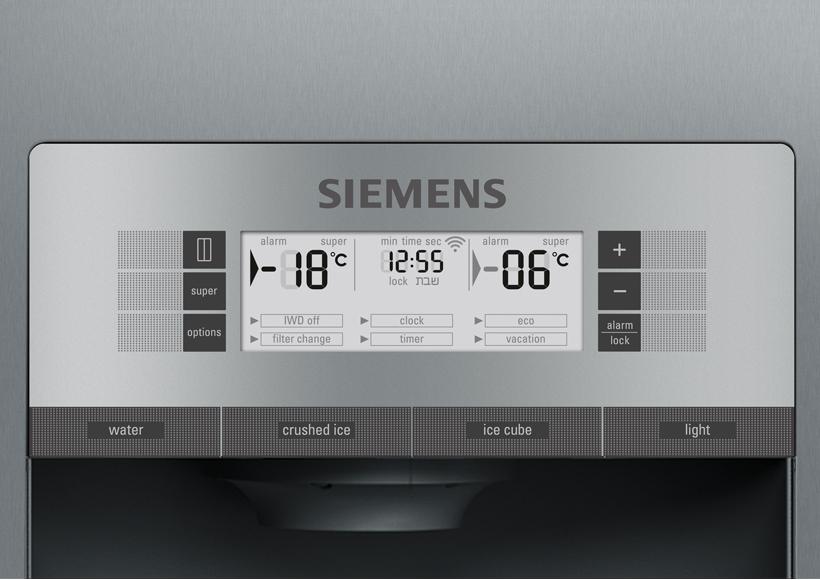 Siemens Kühlschrank Kamera : Siemens iq700 nofrost kühl gefrierkombination side by side